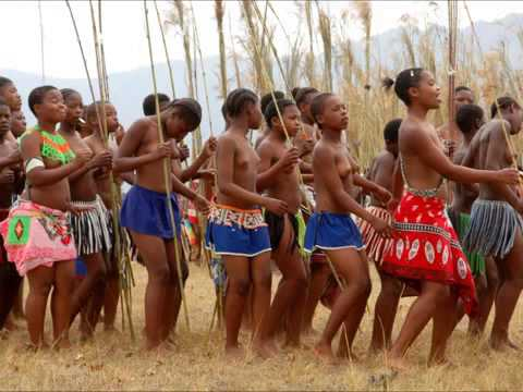 Swaziland Reed Dance - video
