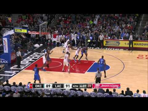 Oklahoma City Thunder vs Los Angeles Clippers | December 11, 2015 | NBA 2015-16 Season