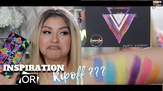 LAURA LEE LOS ANGELES PARTY ANIMAL PALETTE REVIEW + DEMO | SUPERSTARGLAM