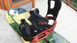 Pros and Cons of my Snowboard Bindings - Burton Cartel EST