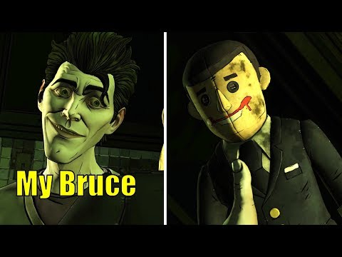 John Goes Nuts at the Asylum Because of Batman -All 5 Endings- The Enemy Within Ep5 Same Stitch