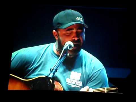 Aaron Lewis  right here waiting