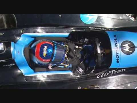 Danica Patrick Stalls at Sufers Paradise - Indycar 2008 Video