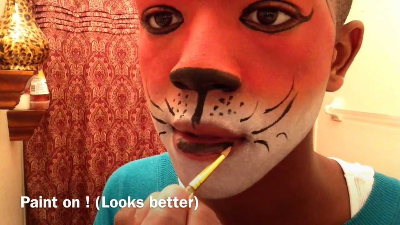 Red Nose Face Paint Ideas