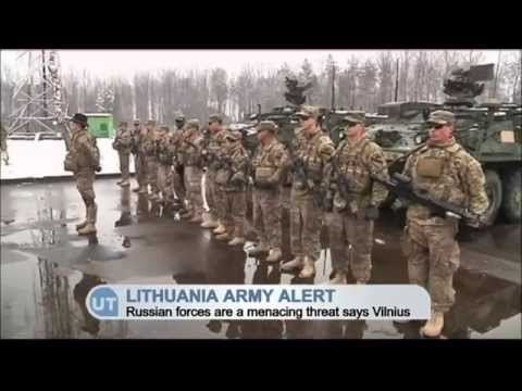 Lithuania Army on High Alert: Russian forces increasing military activity in border zone