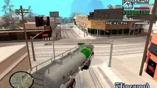 Mod Pack RC8 Gta Snow Andreas V3.5 Mission 31 Tanker Commander (PC) .wmv
