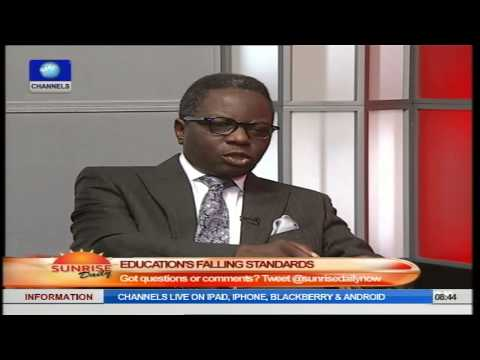 Sunrise Daily: Prof. James Makinde Speaks On Standard Of Education In Nigeria PT1