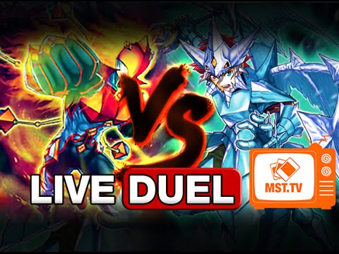 Masked HERO vs Nekroz - Live Duel - MST.TV