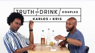 Truth or Drink: Couples (Karlos & Kris) | Truth or Drink | Cut