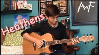 Twenty One Pilots- Heathens - Cover (Fingerstyle Guitar) / OST Suicide Squad
