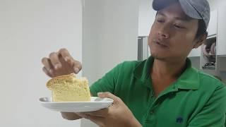 Original Jiggly cake recipe// Japanese Cotton Soft vanilla sponge cake recipe