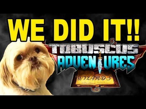 We Did It, Gryphon! - Tobuscus Adventures: The Game - Update video