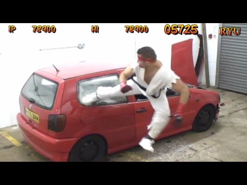 Thumbnail of video REAL LIFE Street Fighter Car Bonus Stage