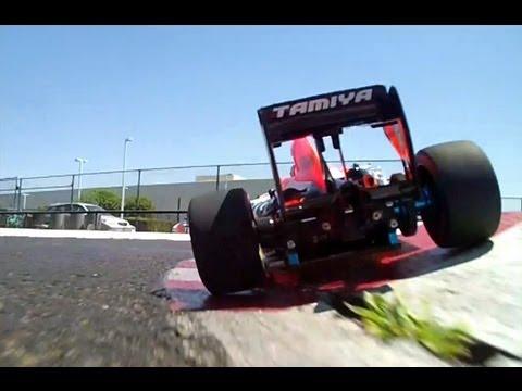 Dueling Formula One RC_ F104's at the Tamiya Track~ Velocity RC Magazine