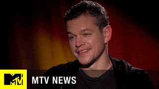 Matt Damon Hasn't Heard Ben Affleck's Batman Voice Yet   MTV News