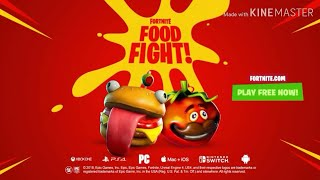 Fortnite FOOD FIGHT Trailer FULL SONG