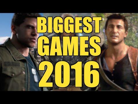 TOP UPCOMING GAMES 2016!