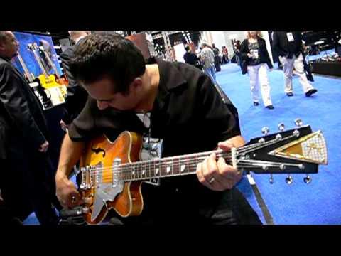 Kay Guitars at NAMM pt. 22 KID RAMOS