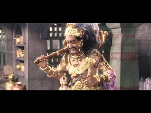 Maya Bazar Movie Song | Vivaha Bhojanambu Video Song | Savitri...