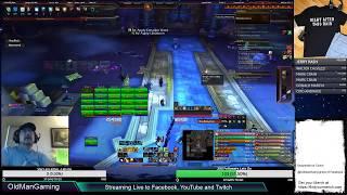 World of Warcraft - Mythic Battle of Dazar'alor Guild Raid - Resto Druid POV