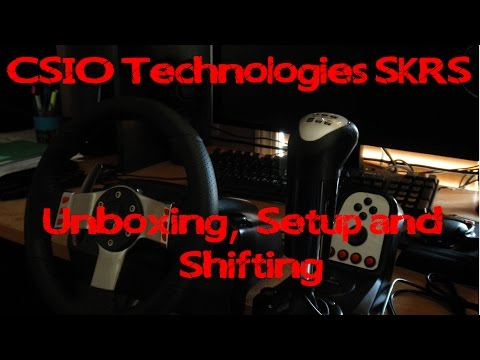 SKRS Unboxing, Setup and Shifting.