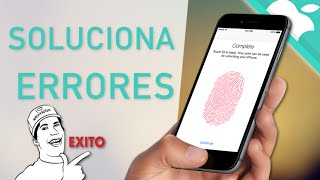 PROBLEMA TOUCH ID | Solución