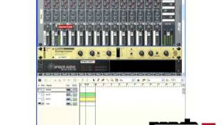 Producing with Reason Tutorial - Panda Drum&Bass | Side Chain Compression with Propellerhead Reason