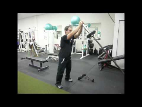 Anti Rotation Exercises - Sorinex Landmine Exercises - Barbell Rainbow