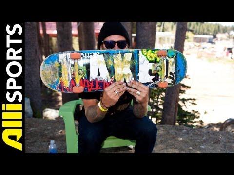 Slash aka Brian Hansen Skateboard Setup
