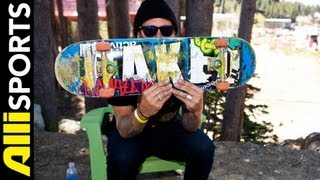 Slash aka Brian Hansen Skateboard Setup Alli Sports