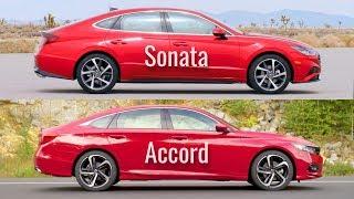 2020 Hyundai Sonata vs Honda Accord