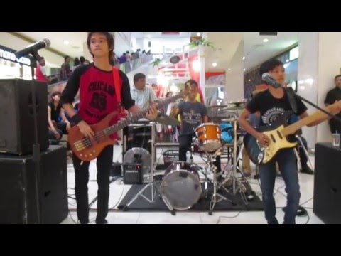SATRIA AND THE MONSTER - JALAN 2 ARAH COVER GUGUN AND BLUES SHELTER