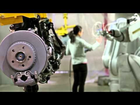 Robotic Axle Painting with FANUC P-50iB Paint Robots – Compass Automation