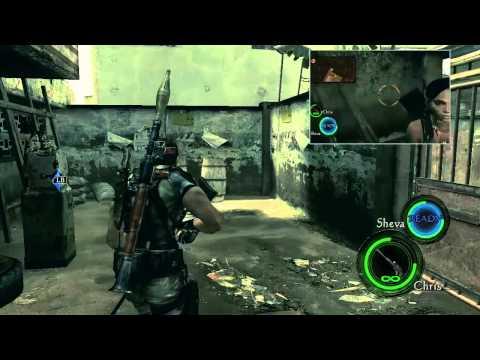 Resident Evil 5 - Capítulo 1-2 Public Assembly - Rank S