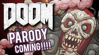 "MY NEXT CARTOON: ""DOOM"" Parody"