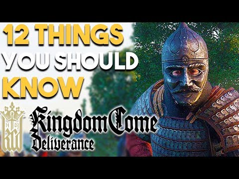 Kingdom Come Deliverance 12 HUGE Things You Should Know Before You BUY (PS4 XBOX ONE PC)