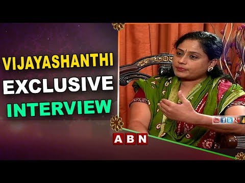 Congress Star Campaigner Vijayashanti Exclusive Interview | ABN Telugu