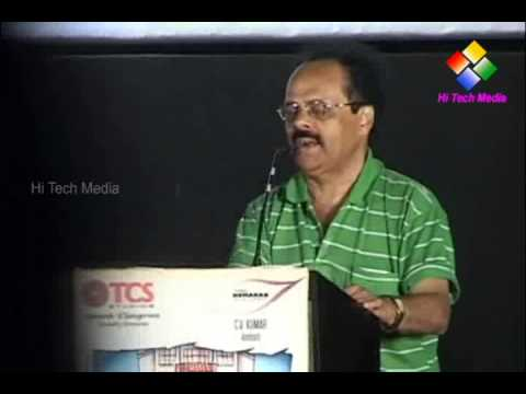 Crazy Mohan at Kalyana Samayal Saadham Audio Launch