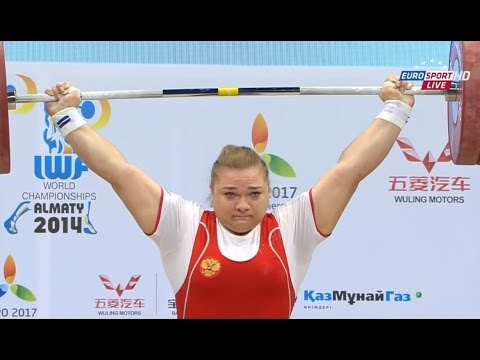 2014 World Weightlifting Championships. women +75 kg \ Чемпионат мира женщины