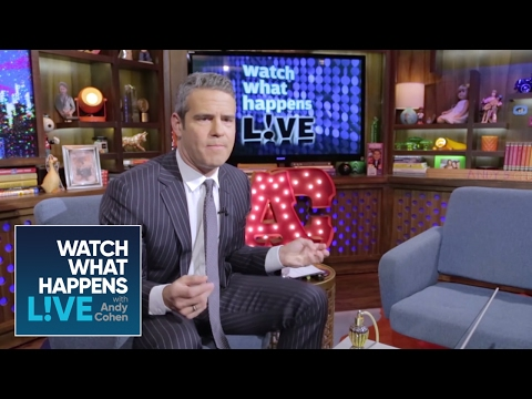 Andy Cohen's Reaction to Lady Gaga - G.U.Y. Music Video
