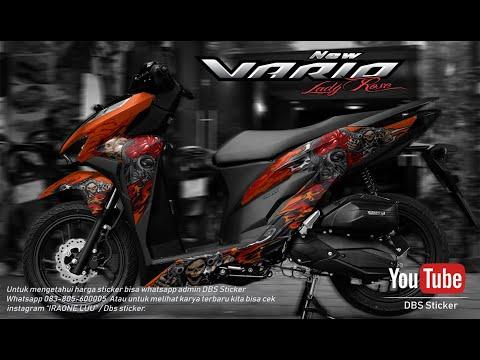 Gambar Foto Modifikasi Honda Vario 150 Cutting Sticker Viewinvite Co