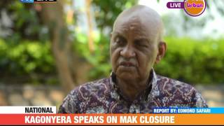 PMLIVE: Kagonyera Speaks out on Makeree Closure