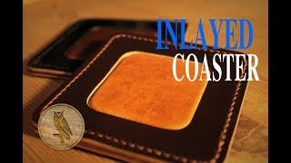 Making an Inlayed Leather Coaster