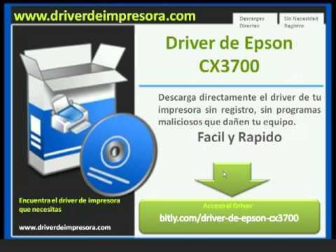 скачать установочный диск принтера EPSON CX3700