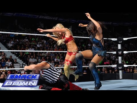 Summer Rae vs. Layla - Special Guest Referee: Fandango - SmackDown, July 11, 2014