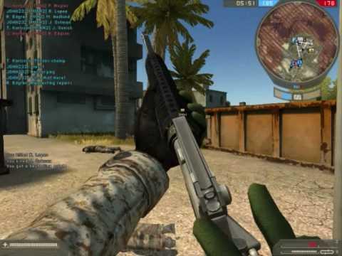 Battlefield 2 on Max graphics