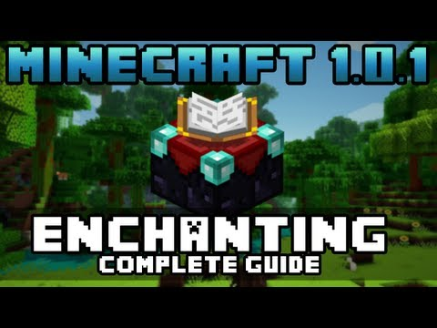 Minecraft Xbox 360 - Enchanting Guide - Minecraft 1.0.1 (TU9) Update | Complete Enchantment Tutorial