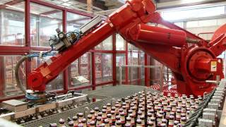 ABB Robotics - Packing Beer Bottles with Refurbished Robots