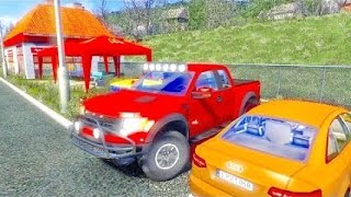 Driving Ford F150 Raptor ETS2 (Euro Truck Simulator 2)
