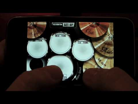 vDrummer (now Drums!) the Ultimate drum kit application for the iPhone and iPod Touch.